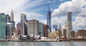 New York — Panorama di Manhattan
